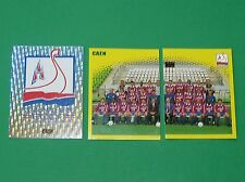 PANINI FOOT 98 STADE MALHERBE DE CAEN COMPLET FOOTBALL SAISON 1997-1998