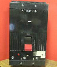 * GENERAL ELECTRIC  TKM836F000  3P 800 AMP CIRCUIT BREAKER W/600A TRIP ... VT-06