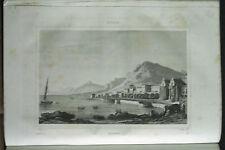 1850, Inc/Acc =PALERMO, Vista Particolare Citta.=Sicilia.Italie.Pittoresque.ETNA