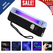 Handheld UV Black Light Flashlight Torch Portable Blacklight with LED
