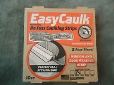 Easy Caulk Wall Caulk Strips Self adhesive White