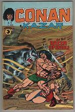 CONAN E KAZAR corno N.9 LA RAZZA INFERNALE shanna the she-devil ka-zar 1975