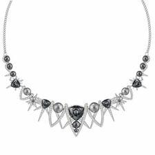 Сваровски женские ожерелье фантастический серый и прозрачный кристалл 5216630