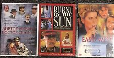 3DVD GREAT MOVIES ABOUT STALIN 'S EPOCH./ Burnt by the sun /East/West/Dr.Zhivago