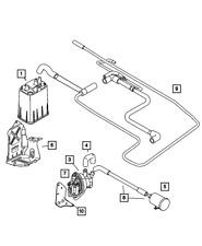 Genuine Mopar Fuel Vapor Vent Filter 5085164AA
