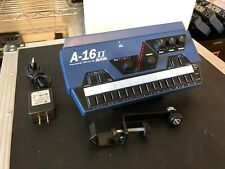 Aviom A-16ii Personal Mixer A 16 Ii w Power Supply, K&M arm and mount