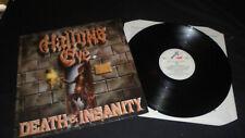 Hallows Eve – Death & Insanity 1986 ROADRUNNER/METAL BLADE Vg LP vinyl