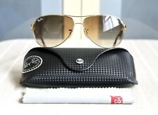 Ray ban Sunglasses Aviator Classic Limited Edition Carbon Fibre Rb 8313 Gold