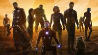Avengers endgame Brie Larson Karen Scarlett Wallpaper Poster 24 x 14 inches