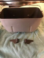 Breadman Bread Maker Machine Dual Beater Pan with 2 Paddle Blades Model Tr810