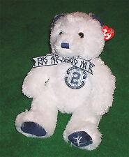 New York Yankees Derek Jeter Final Season Ty Beanie Bear Buddy Captain 9/21/14