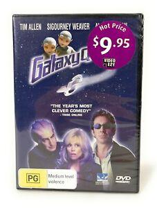 Galaxy Quest (DVD, 1999) Sigourney Weaver New & Sealed Region 4 Free Postage