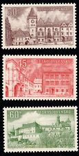EBS Czechoslovakia 1955 - Beautiful Cities (II) - Michel 930-932 MNH**