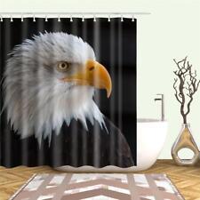 Bold Eagle American National Bird Bathroom Shower Curtain Polyester Hooks