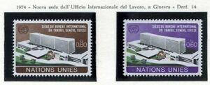 19529) United Nations (Geneve) 1974 MNH New I.L.O