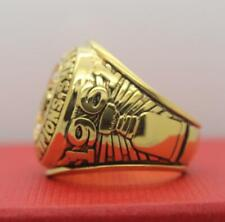 Year 1961 Chicago Blackhaws Stanley Cup Championship Copper Ring 8-14Size