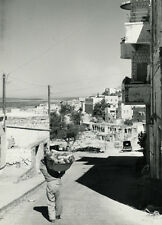Photo Georges Viollon Rapho Safed Israël Vers 1950