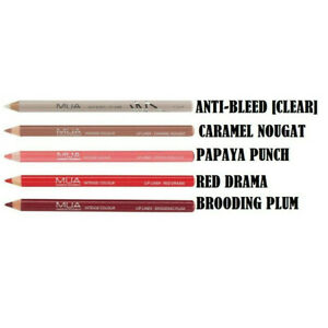 MUA Intense Colour Lip Liner Pencil with Sharpener