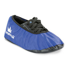 Brunswick Shield Blue Bowling Shoe Covers Size Large