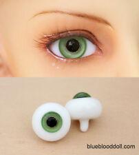 10mm bjd glass doll eyes green color dollfie iplehouse luts #ET-07 ship US