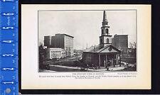 NEWARK MILITARY PARK, Robert Treat, Trinity Church- 1925 Page of History