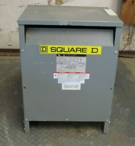 SQUARE D 3 PHASE TRANSFORMER EE30T3H 30 KVA