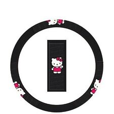 Hello Kitty Waving Steering Wheel Cover Universal for all Cars ADDS CHARACTER