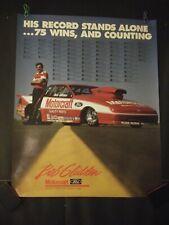Vintage Bob Glidden Motorcraft Ford Probe 75 Wins Poster
