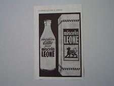 advertising Pubblicità 1953 SURROGATO CAFFE' MISCELA LEONE