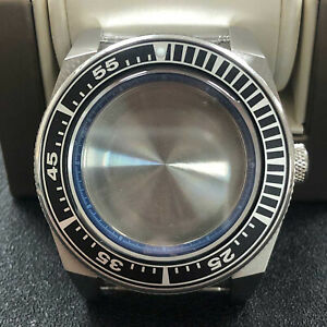 316L Steel Watch Case Inner Ring Sapphire Glass Case Teil for NH35/NH36 Movement