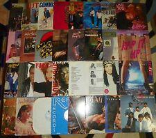 31-Pc Lot Of 1980's 12-Inch RECORDS 33RPM Vinyl LP Albums R&B Rap Soul And More