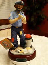 Emmett Kelly Jr Policeman Clown Figurine Flambro Professional Series No. 9607