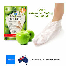 Foot Care Mask Apple Pack Pedicure Scrubber Pumice Dead Hard Skin Mask Peeling
