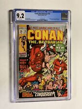 Conan The Barbarian 10 Cgc 9.2 White Pages Marvel Bronze Age