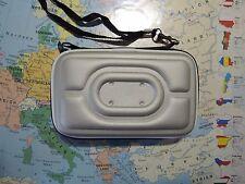 Hardcase  Navi Tasche / Hülle  für 5 Zoll  Navi Navigation Schutzhülle Silber
