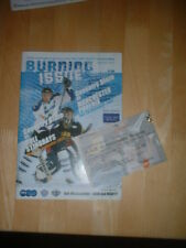 2003/4 COVENTRY BLAZE  V MANCHESTER PHOENIX HULL STINGRAYS - ICE HOCKEY + TICKET