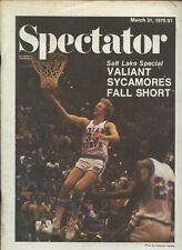 March 31 1979 Spectator Magazine With Larry Bird Indiana State Front Cover EX