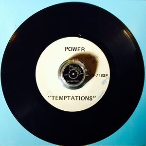 THE TEMPTATIONS *Test Pressing* POWER* FUNK MOTOWN CLASSIC NORTHERN SOUL ❤️