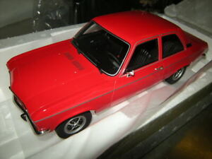 1:18 BOS Opel Ascona A red/rot in OVP Limited Edition