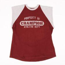 90s Vintage CHAMPION T-Shirt Vest | Men's M | Retro Nineties Gym Running Jogging