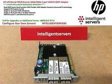 HP Infiniband FDR/Ethernet 10Gb/40Gb 2-port 544FLR-QSFP Adapter  * 649282-B21 *
