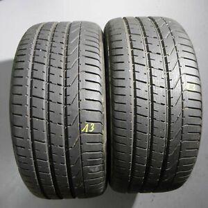 2x Pirelli P Zero  275/40 R20 106Y DOT 0113 7 mm Sommerreifen