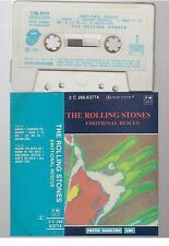 ROLLING STONES cassette K7 tape EMOTIONAL RESCUE france 2c 266-63774 hand sleeve
