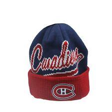 Montreal Canadiens NHL Reebok Youth Boys (8-20) Cuffed Winter Beanie Hat Cap New