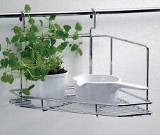 WESCO système d'accrochage Armoire d'angle droit et gauche inox Rail de cuisine