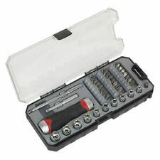 Sealey AK64905 Fine Tooth Ratchet Screwdriver & Accessory Set 38pc