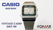 CASIO VINTAGE DBT-700 AKA TIMETABLE DATABANK  QW.662 AÑO 1987