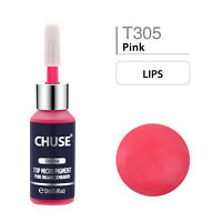 CHUSE Permanent Make-up Pigmente Lippen Microblading Tattoo Ink T305 Derma test