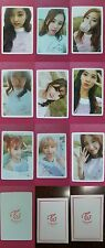 LOT of 9 TWICE Official Photocard Pre Order V. 3rd Album TWICEcoaster : LANE1 TT