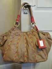 Butterfly Matthew Williamson Tan 100% Leather Slouch Hobo Shoulder Hand Bag